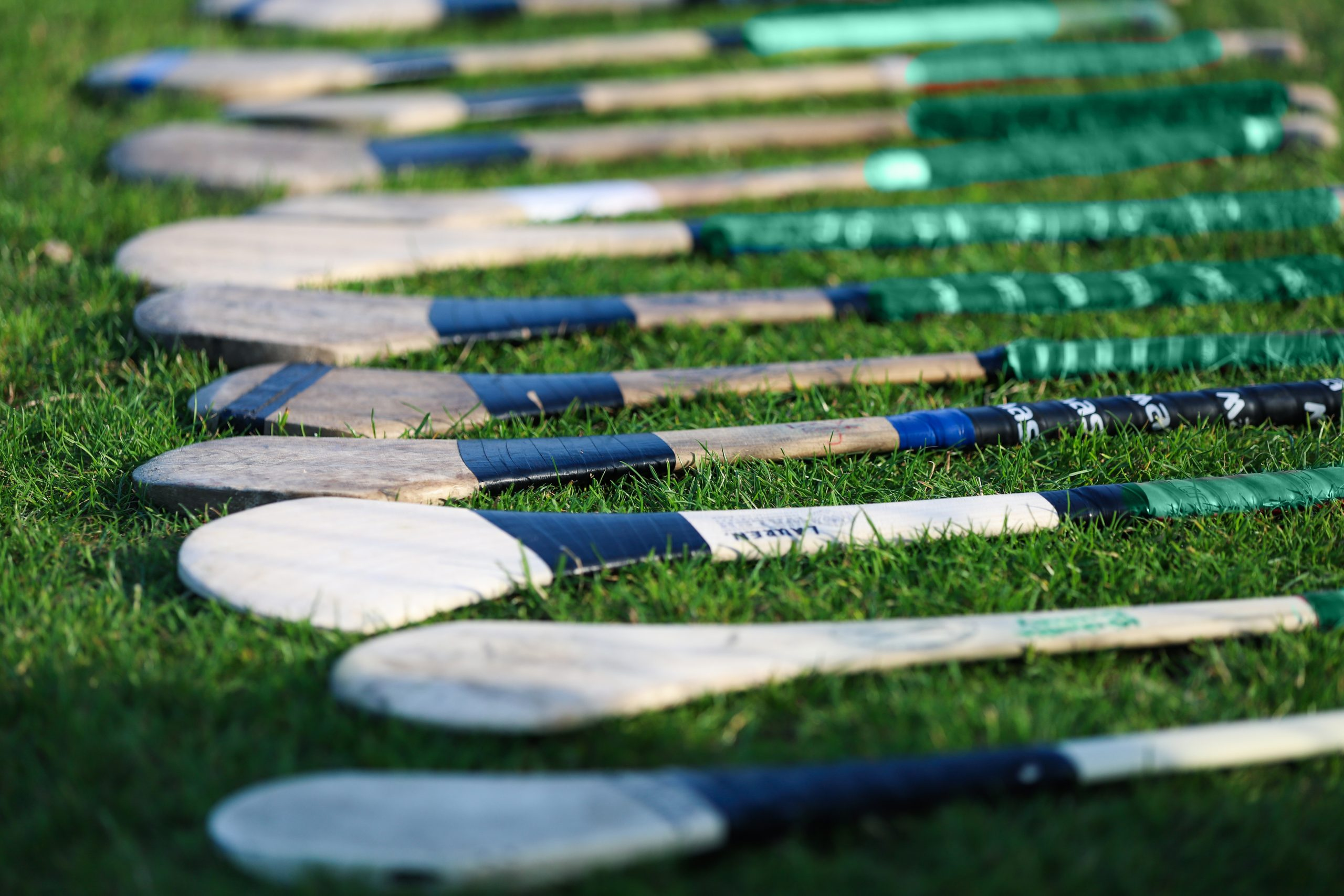 Hurleys on a field