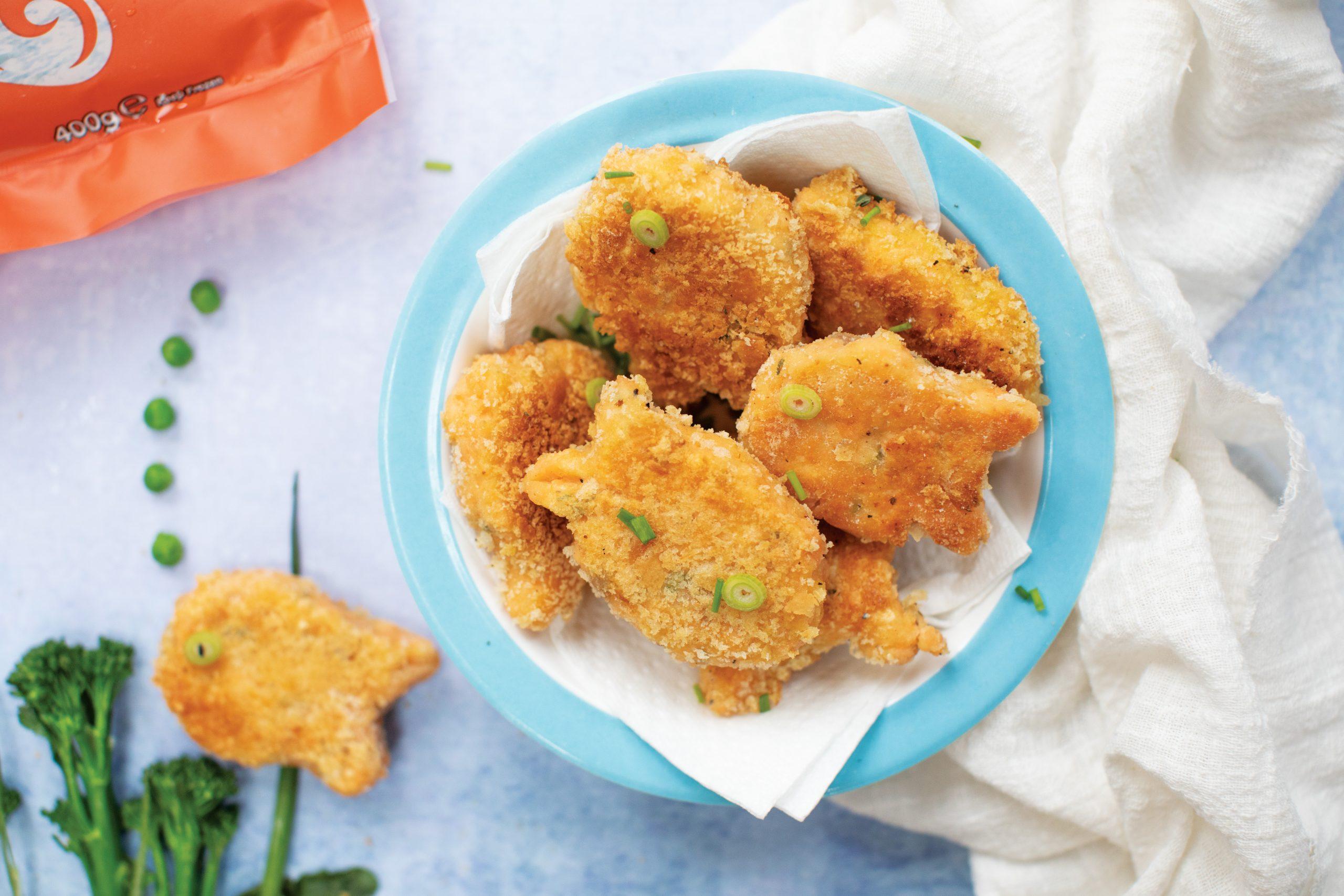 Salmon Fishy Nuggets