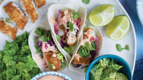 Easy Peasy Fish Tacos